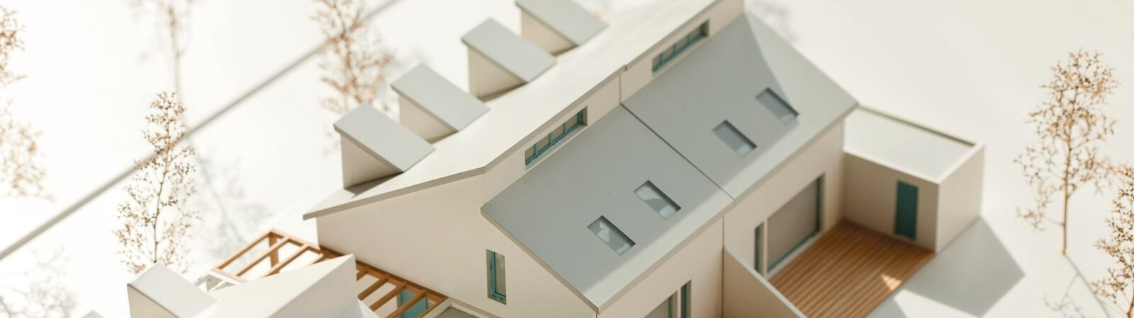 Architectual model of a house
