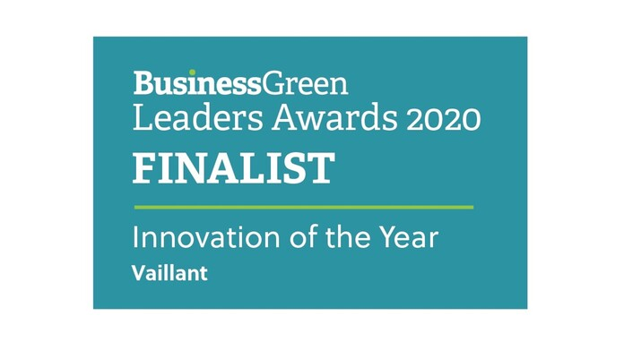 Vaillant's new green machine shortlisted for award