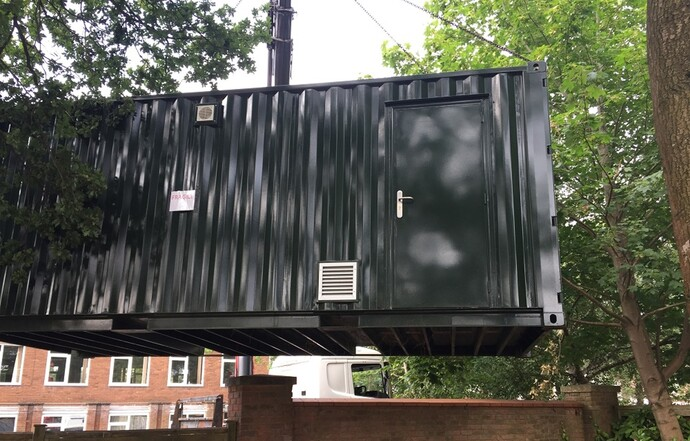 Shipping container project