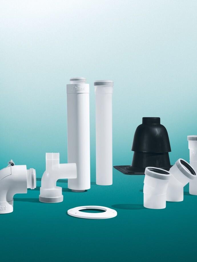 Single install and cascade flue systems