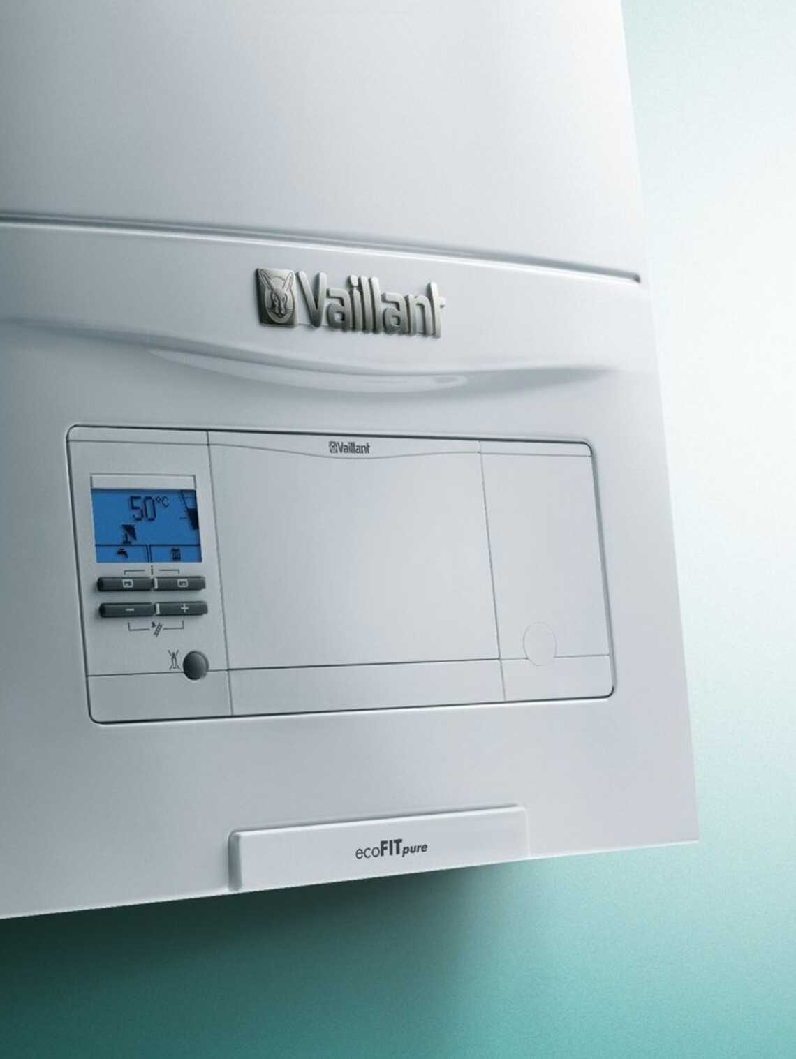 Ecofit Pure Open Vent Boiler Vaillant Uk Wiring Diagrams Y Plan Central Heating Close Up Of The Front Panel
