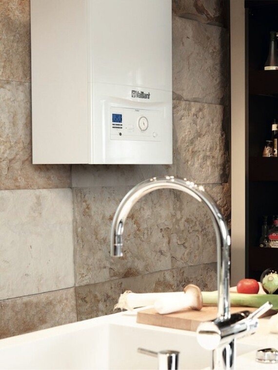 ecoTEC pro situated in a kitchen