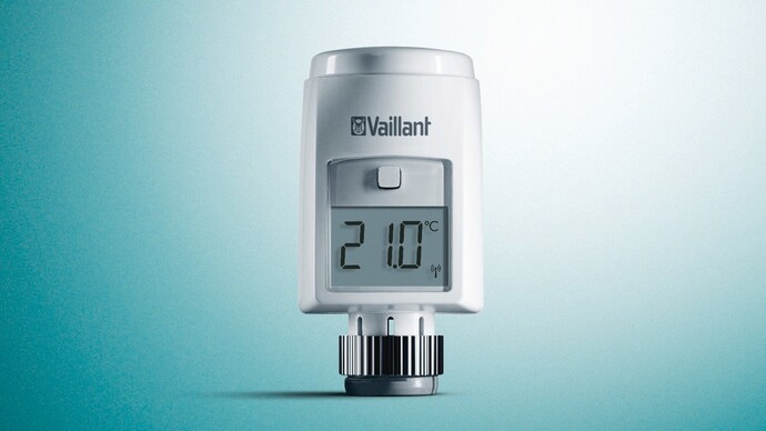 ambiSENSE smart thermostatic radiator valve