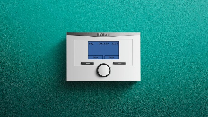 Vaillant timeSWITCH 160 control