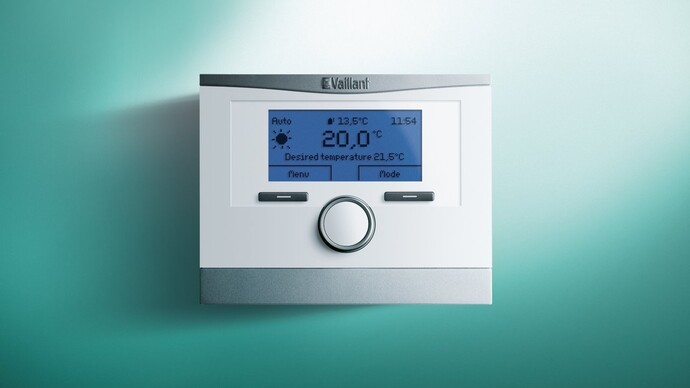 VRC 700 / VRC 700f Weather Compensating Thermostats