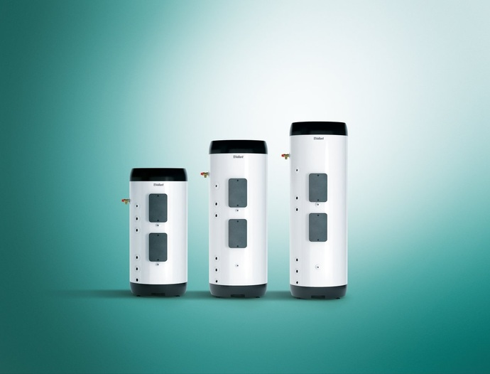 The auroSTOR hot water cylinders for solar thermal