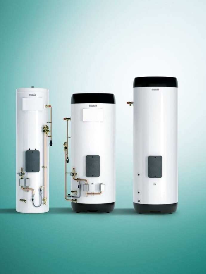 Domestic boiler hot water cylinders