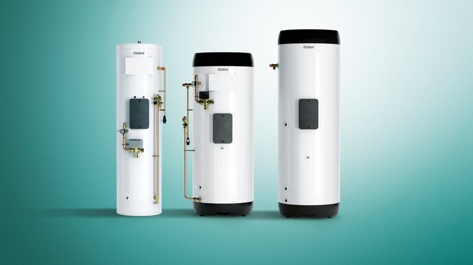The uniSTOR hot water cylinders for heat pumps