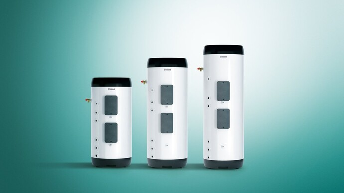 auroSTOR hot water cylinders for solar thermal