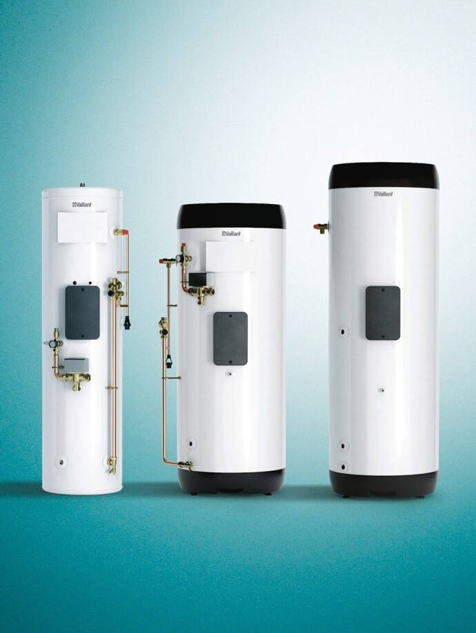 uniSTOR hot water cylinders for heat pumps