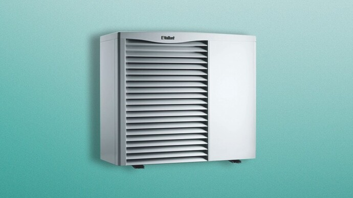 aroTHERM air source heat pump