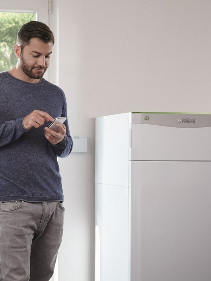 The flexoTHERM multi-source heat pump