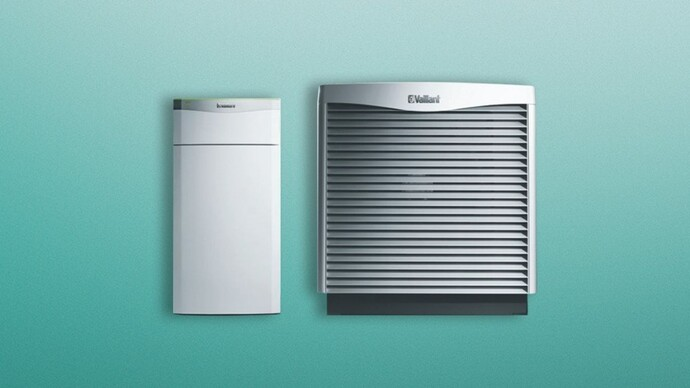 flexoTHERM air source heat pump