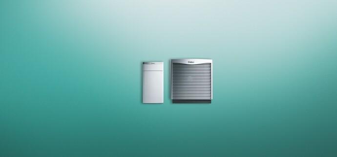 flexoTHERM air source heat pump