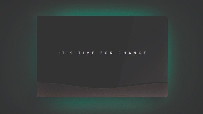 "Vaillant's senso range with the text ""It's time for change"""