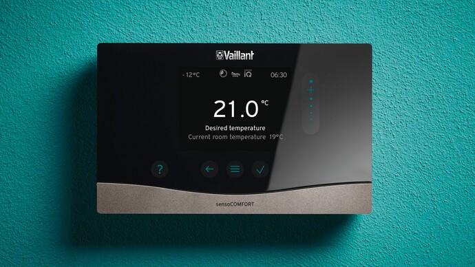 sensoCOMFORT heating control