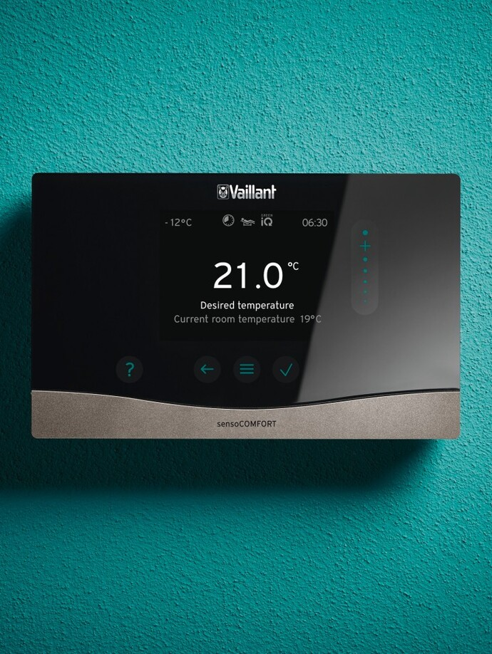 sensoCOMFORT heating control