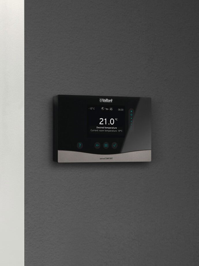 Vaillant sensoCOMFORT heating control