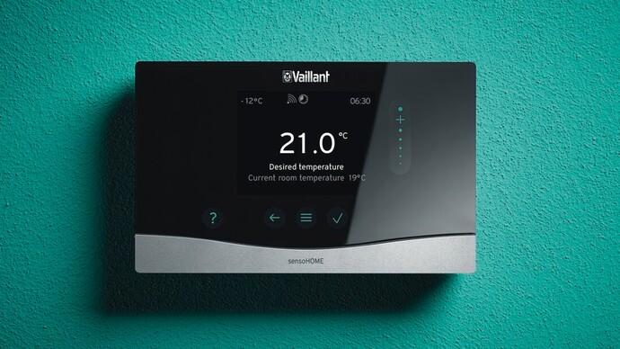 sensoHOME / sensoHOME RF room thermostat