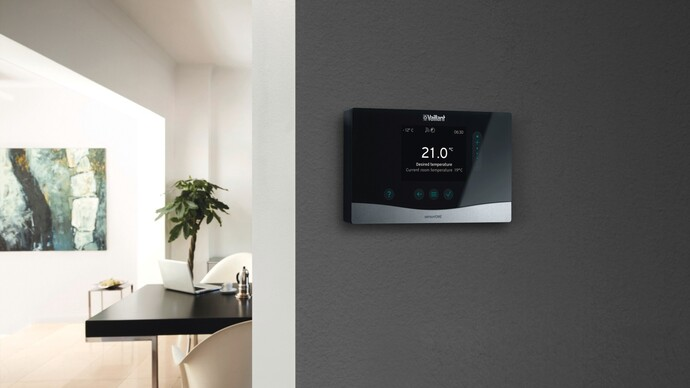 Vaillant sensoHOME heating control