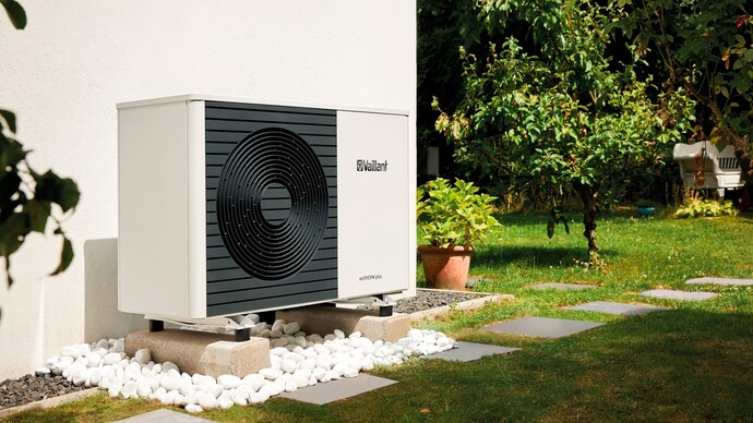 The aroTHERM plus air-to-water heat pump