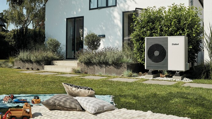 The aroTHERM Split air source heat pump